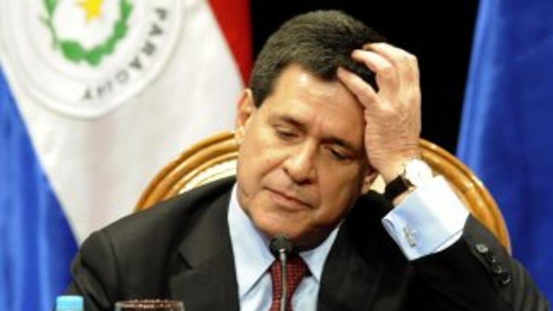 El presidente de Paraguay,Horacio Cartes.