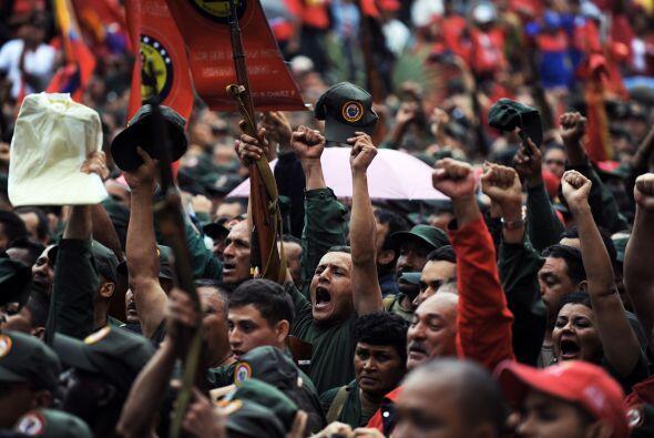 Los venezolanos están acostumbrados a los discursos y apariciones casi d...