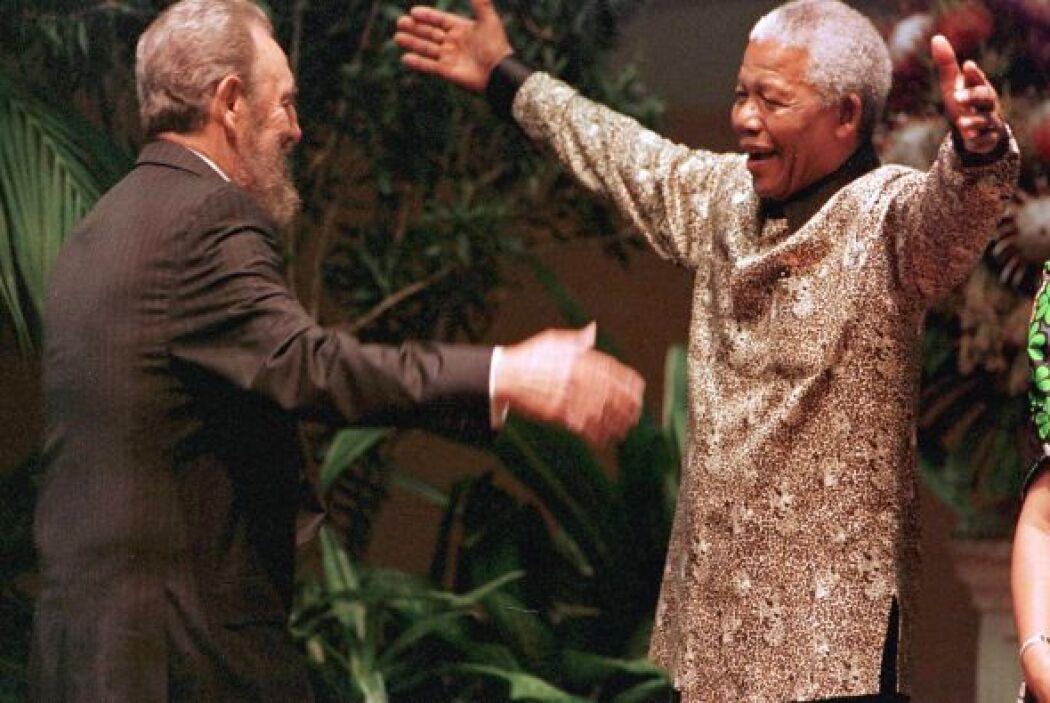 En 1994, Nelson Mandela se convertía en el primer presidente negro de Su...