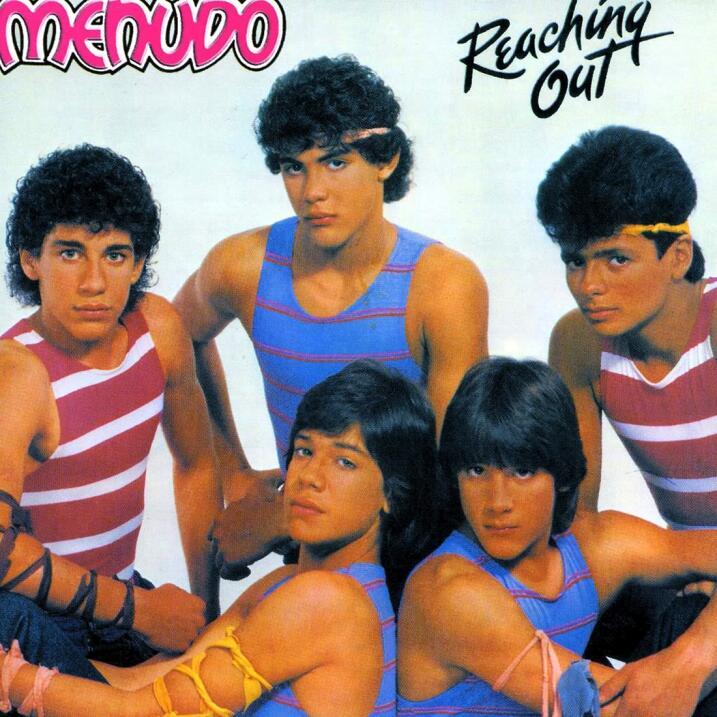 El grupo Menudo volvía locas a las chicas con la canción 'Claridad'.