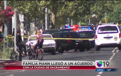 Familia de hombre muerto a manos de la policía llegó a un acuerdo con la...
