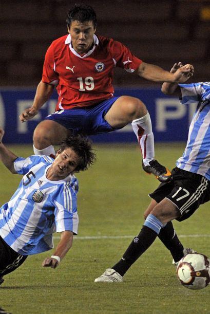 Si bien Argentina no deslumbra con sus actuaciones, sigue anotando y las...
