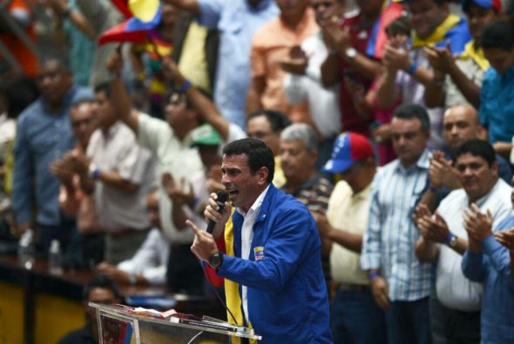 De los encuentros con celebridades de la gran pantalla, Capriles recuerd...