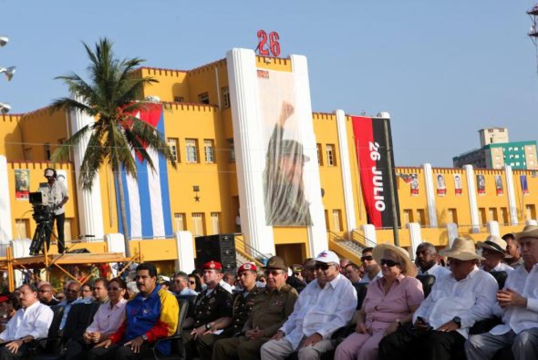 El único presidente de la ALBA ausente fue el ecuatoriano Rafael Correa,...