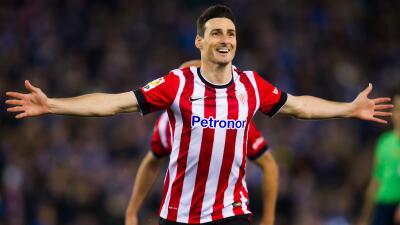 Aduriz lidera goleada de Athletic al Gijón