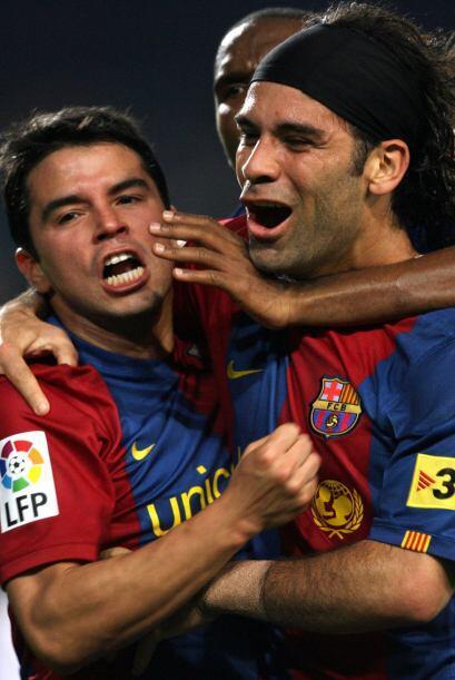 Convirtió algunos goles y tuvo de compañero a Javier &acut...