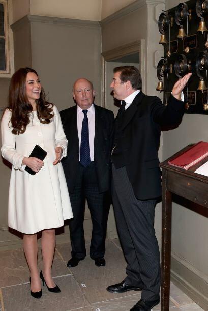 El actor Brendan Coyle se puso un poco nervioso ante la duquesa.