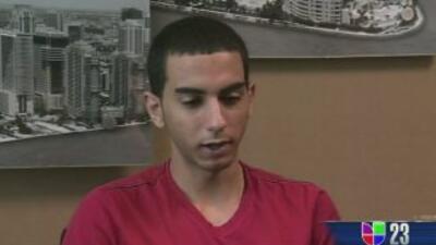 Frank Acosta estuvo acusado de apuñalar a un compañero en la escuela sec...