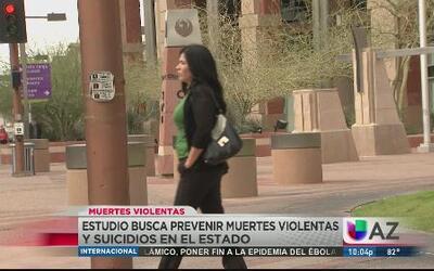 Alarmante aumento de violencia y suicidio en Arizona