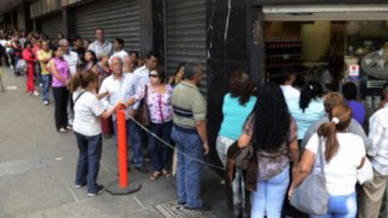 Venezuela sufre una escasez de insumos crítica.