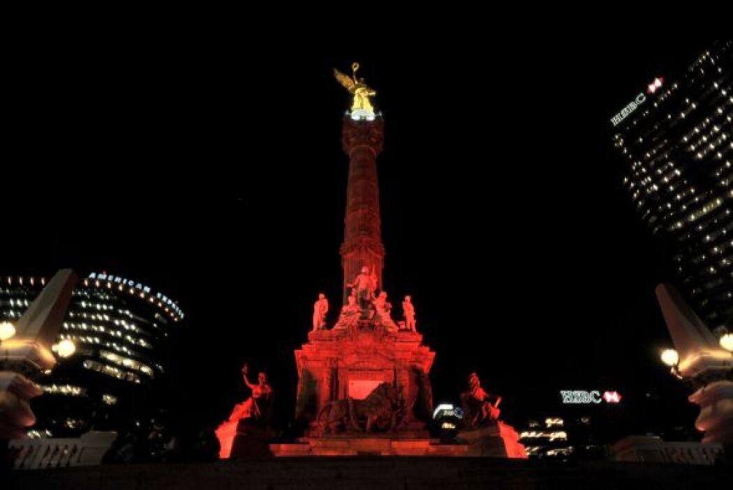 El Ángel de la Independencia en México