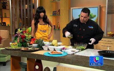Receta para preparar ensaladas originales