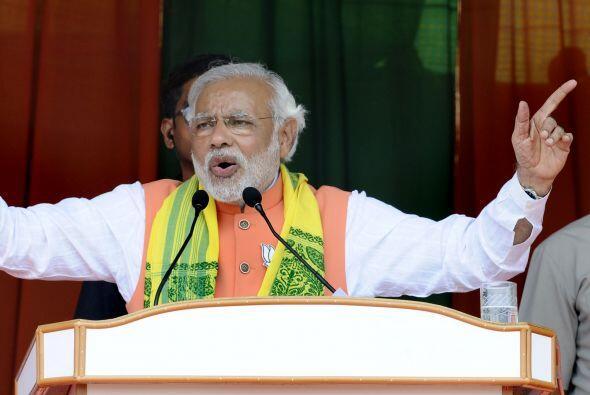 Narendra Modi es el mayor líder del partido Bharatiya Janata Party y del...