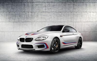 BMW presentó el M6 Coupe Competition Edition. Una edición especial inspi...