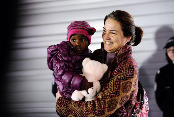 La mirada y sonrisa de esta madre francesa dice más que mil palab...