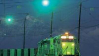 El tren de carga que se descarriló en la localidad de Tiskilwa llevaba u...