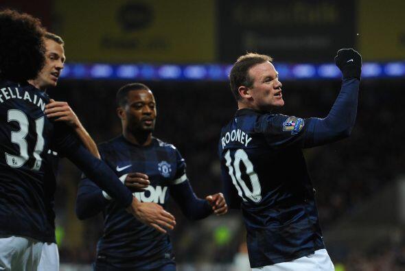 El gol de uno de los líderes del United era valioso, pues el equipo debí...