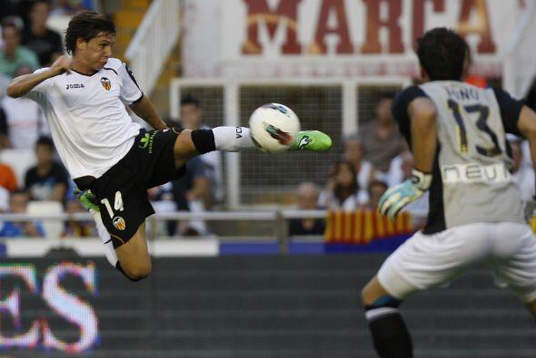 Y en la Liga española Piatt nos hizo recordar al 'Karate Kid' en...