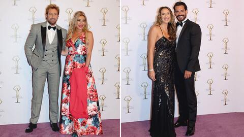 Mira todo lo que sucedió en la alfombra morada de los 'Premios TVyNovela...