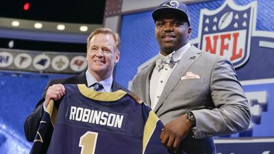 Los Rams eligieron al OT Greg Robinson global