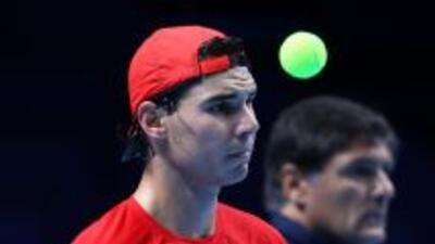 Rafael Nadal buscará cerrar el año con el título en la Copa de Maestros.