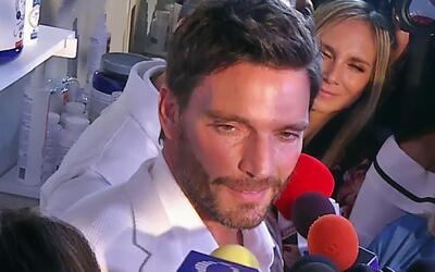 Así reaccionó Julián Gil cuando Orlando Segura le preguntó por su bebé