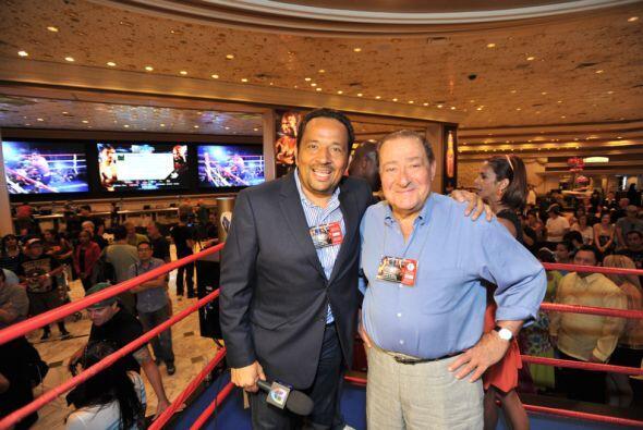 Bob Arum líder de Top Rank, tendrá mucho trabajo en Las Vegas; se podría...