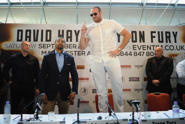 Tyson Fury llega invicto a esta pelea y es el retador #5 del CMB por el...
