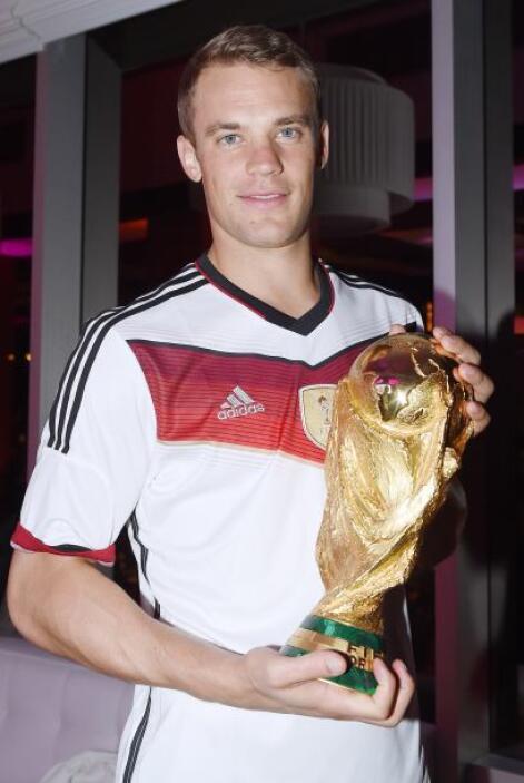 Manuel Neuer, el imbatible portero del Mundial.