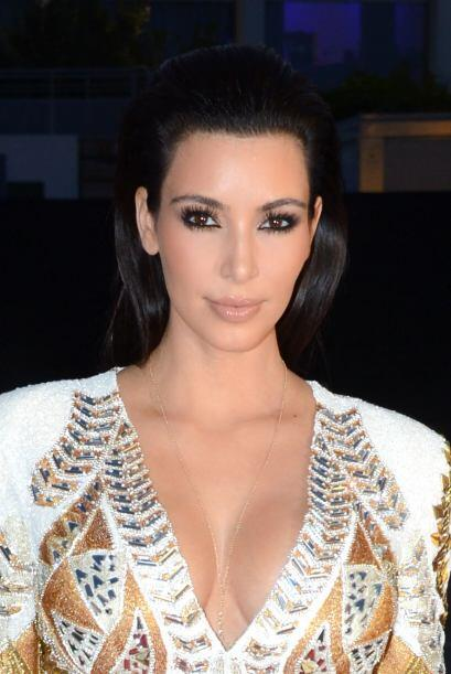 """Quien impuso moda con los """"smokey eyes"""" fue Kim Kardashian, y..."""