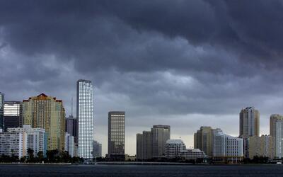 Viento y lluvia en Miami, el pronóstico para este domingo 23 de abril