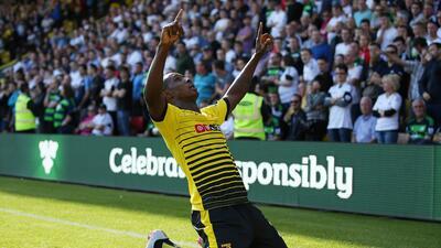 Odion Ighalo marcó un doblete para ganar en casa del Newcastle.