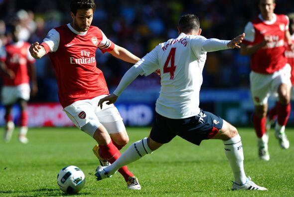Pero el Bolton no fue un rival sencillo, además que buscó...