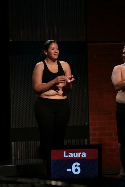 Laura habló de lo que había sido el esfuerzo de todos y lo que personalm...