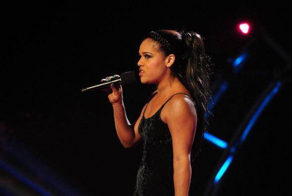Esta venezolana dejó su corazón en el escenario con una canción dedicada...