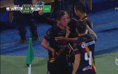 """""""La Momia"""" no podía irse de Torreón sin un golazo como en 2011 para el 2-1"""