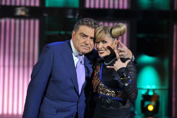 Hasta el show de Don Francisco llegó Gloria Trevi para cantarle a...