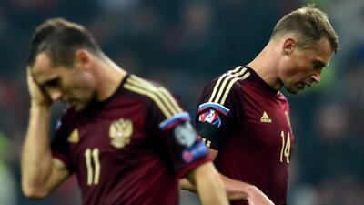 Los rusos se toparon con una muralla en su partido eliminatorio.
