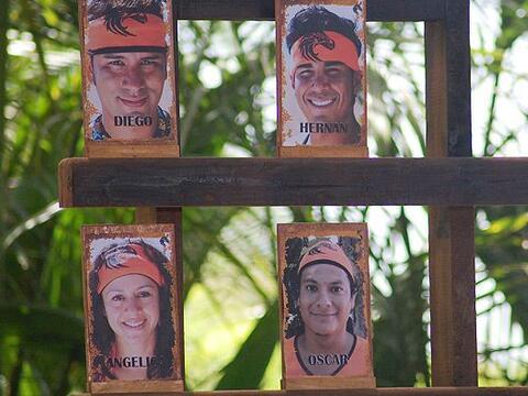 Los únicos que se salvaron de ser votados fueron Alejandra y Jos&...