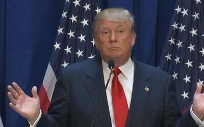 "Donald Trump: ""México nos envía droga, crimen y violadores"""