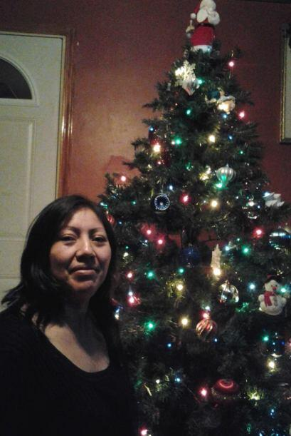 Así celebra la navidad Ashley Robledo.