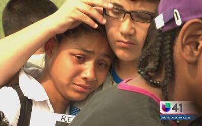 Familiares devastados por tragedia en el Bronx River