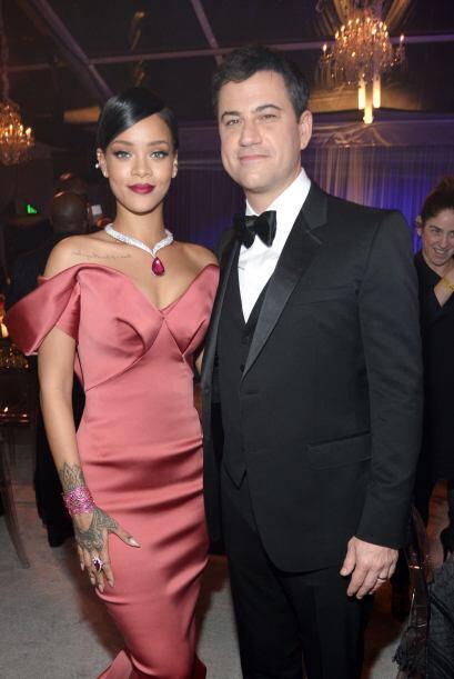 Al final Rihanna se coronó como digna organizadora de este Diamon Ball y...
