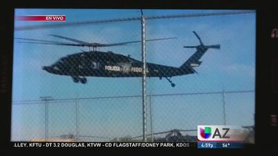 Impresionante operativo en la frontera