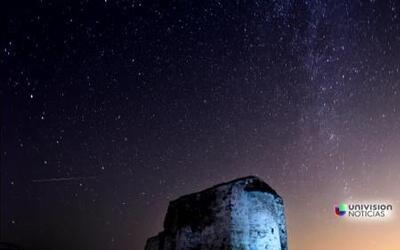 Lluvia de meteoros ilumina la madrugada que acompañará a la luna llena
