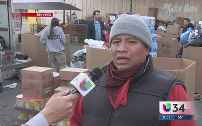 Residentes de Georgia apoyan a damnificados tras el paso de tornados