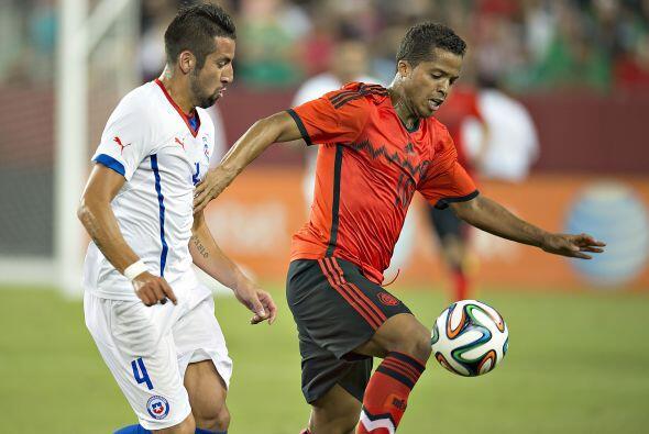 Giovani Dos Santos, desde sus tiempos en selecciones menores el atacante...