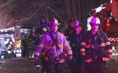Investigan las causas de un incendio que consumió una vivienda en Briarc...