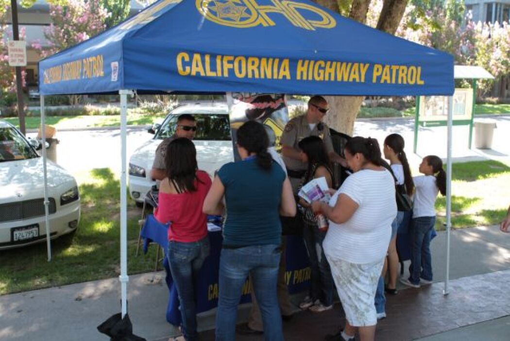 CHP en su campaña ¨Distracted driving Kills¨