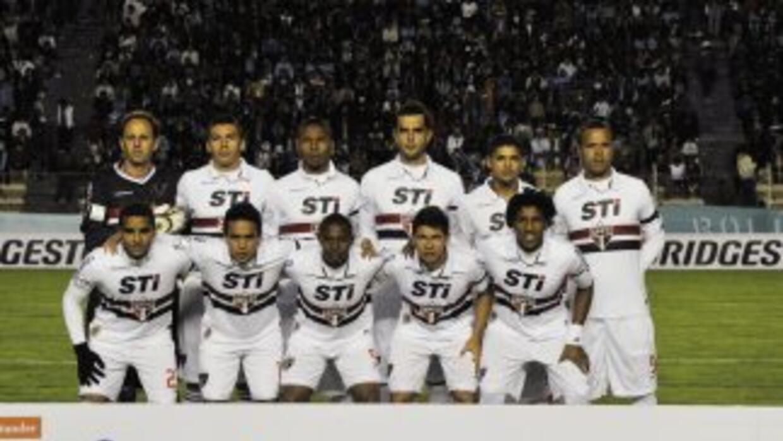 Sao Paulo es uno de los seis equipos brasileños que jugarán la fase de g...